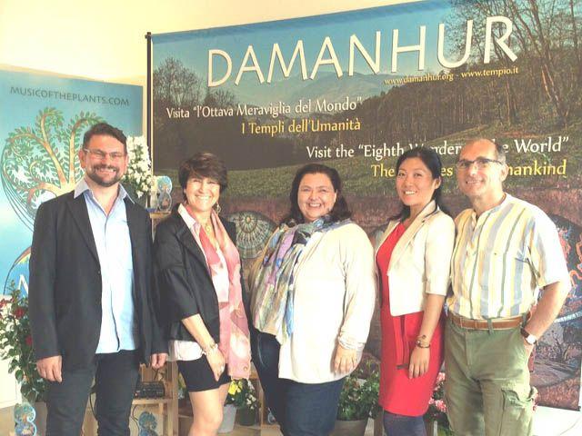 Damanhur all'Expo Milano 2015