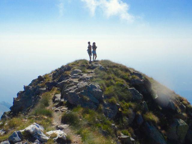 Scalate ed esperienze in cima alla montagna